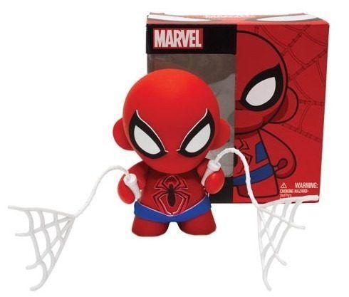 Spider Man - Homem Aranha - Munny - 18 Cm  http://produto.mercadolivre.com.br/MLB-588541620-spider-man-homem-aranha-munny-18-cm-_JM