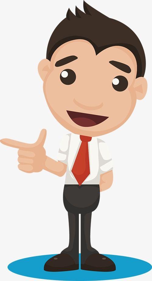 Cartoon Business Man Cartoon Clip Art People Illustration 3d Character