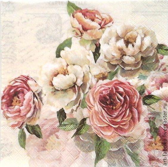 декупажа розы - Cerca con Google
