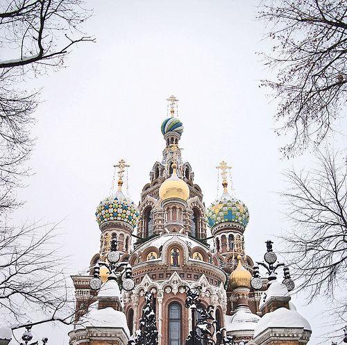 Russia - St Petersburg. Home of Anastasia.