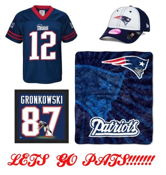"""LETS GO PATRIOTS!!!!!!!!!!!"" by haleyisbae2020 ❤ liked on Polyvore featuring New Era, The Northwest Company, NewEnglandPatriots and nflkickoff"