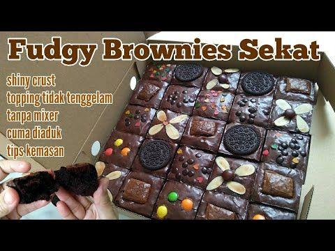 Perhitungan Modal Harga Jual Resep Fudgy Brownies Sekat Shiny Crust Viral Tanpa Mixer Untuk Jualan Youtube Fudgy Brownies Brownies Resep