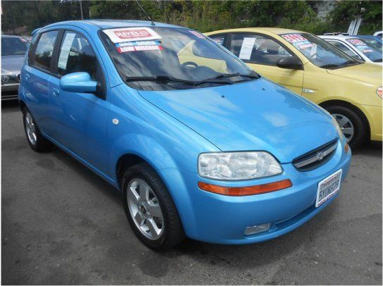 Hatchback 2006 Chevrolet Aveo Lt With 4 Door In Roseville Ca