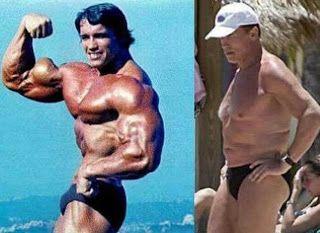 Arnold Schwarzenegger Vient d'admettre l'utilisation des stéroïdes!!