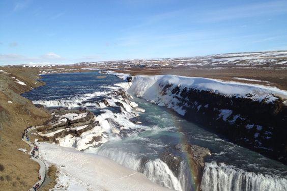 Island - Gulfoss Falls