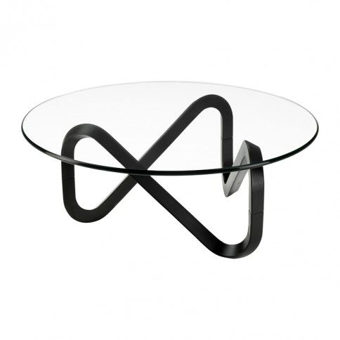 Dark brown version Barbasso by Indera Rounded shape coffee tables - innovatives acryl esstisch design colico design italien