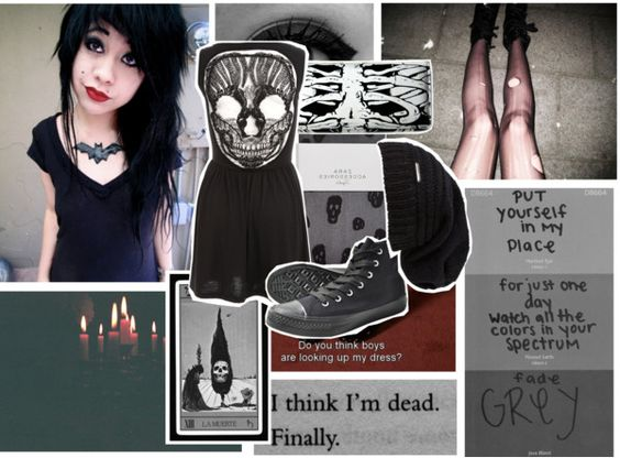 """this is what you got ☠"" by teresa-warhell ❤ liked on Polyvore"