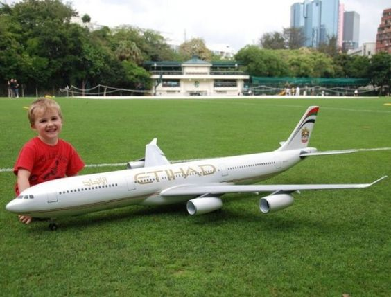 Radio Control Electric Airbus Jet Plane Complete Package - $1950