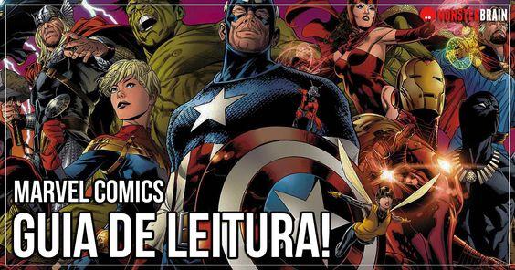 Marvel Comics - Guia de Leitura