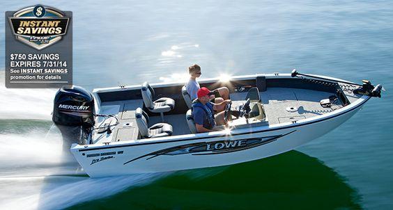 Lowe Boats | FM175 Pro SC | Deep-V Boat | Aluminum Fishing Boats Dealers and Manufacturers : 2014