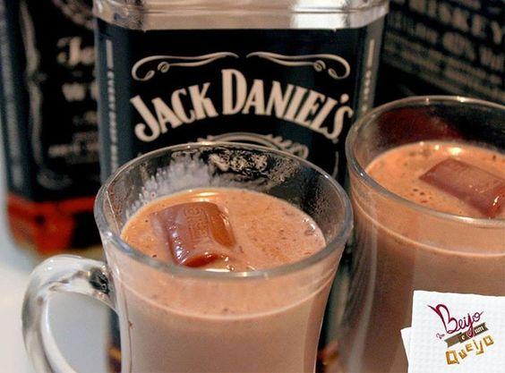 Chocolate Quente com Jack Daniel's