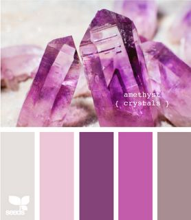 {amethyst crystals} design seeds