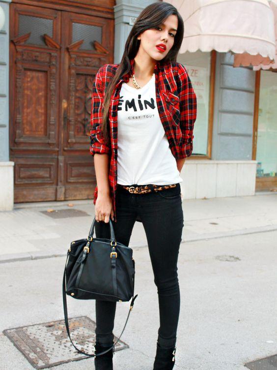 tartan style! von bechicandcheap auf STYLIGHT