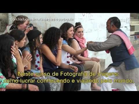 Curso grátis e ao vivo - Fotografia de viagens: como lucrar viajando e conhecendo o mundo | eduK