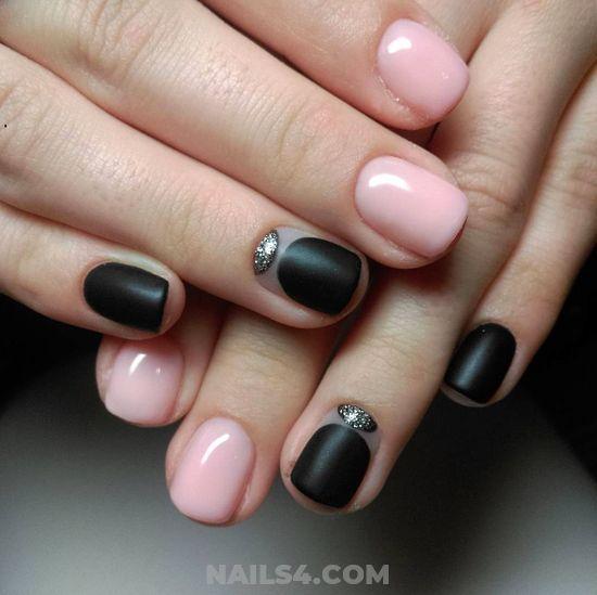 45 Cute Simple Nail Art For School Nailart Nails School Plush Naildesign Orderly Balanced Manicure Art Simple Nails Cute Simple Nails Easy Nail Art