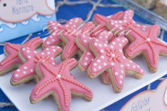 galletas decoradas de mar - Buscar con Google