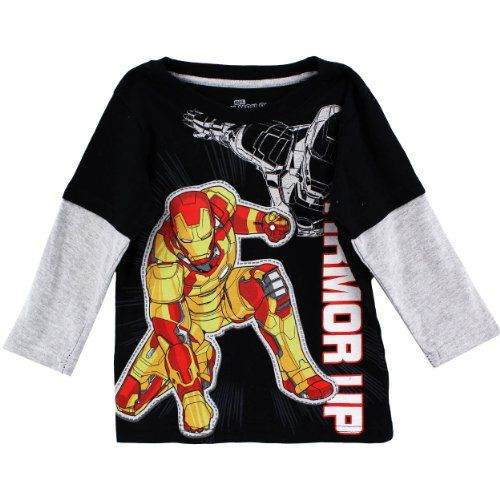 Marvel Boy's 2-7 Ironman Armor Up Long Sleeve Tee, Black, 2T Marvel http://www.amazon.com/dp/B00FVWERS8/ref=cm_sw_r_pi_dp_rvL1tb0GB937QRMZ