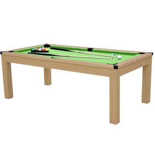 Table Rectangulaire Transformable Multi Jeux 3 En 1 Table
