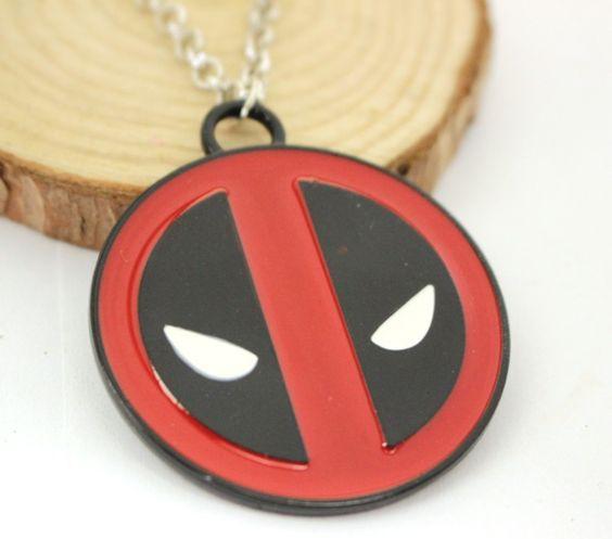 Deadpool Necklace