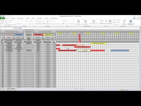 Belegungsplan Fur Z B Fewo Baumaschinen Oder Anhanger Vermitungsplan Fur Fahrradverleih Youtube Excel Vorlage Vorlagen Projektplan Excel Vorlage