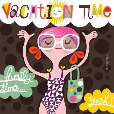 Tiempo de vacaciones, para la familia, amigos, descansar, no descansar, leer...