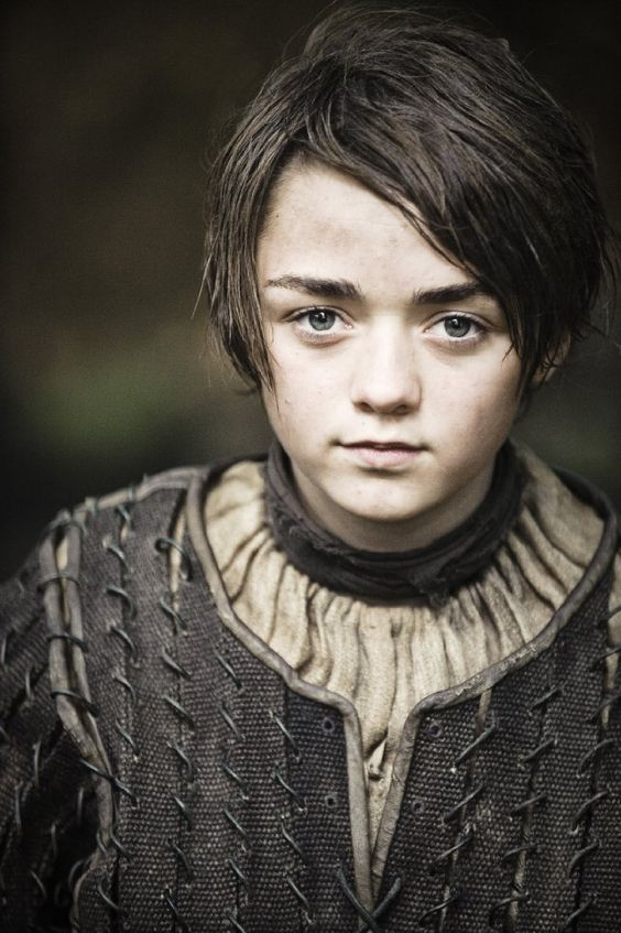 """Maisie Williams """"Arry/Arya Stark"""", of Game of Thrones 