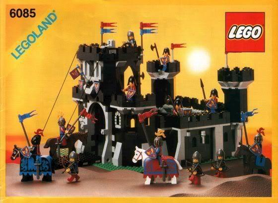 Lego 1980s Black Monarch S Good Old Lego 6085 Black Lego 6085 Old Lego