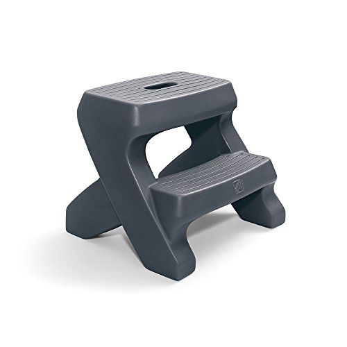 Each Office Depot Two Step Mobile Step Stool Blue