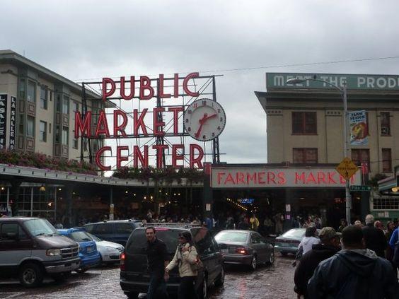 Pike Place Market ~ Seattle