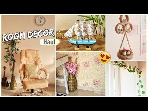 Room Decor Haul Home Decor Items From Amazon Flipkart Shein Cellbell Youtube Decor Decorative Items Amazon Home Decor