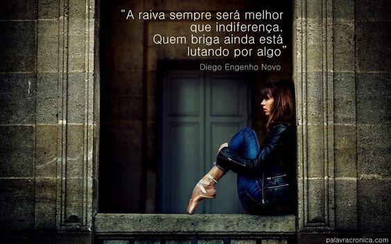 """Trecho da crônica """"Calada"""" Diego Engenho Novo (clique na imagem para ler completa)"""