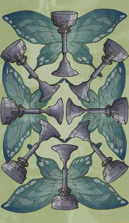 Eight of Cups - Universal Wirth Tarot