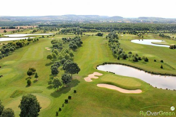 Golf du Château de Chailly, Côte-d'Or, Bourgogne-Franche-Comté, France. Vidéo aérienne sur FlyOverGreen / Aerial video on FlyOverGreen