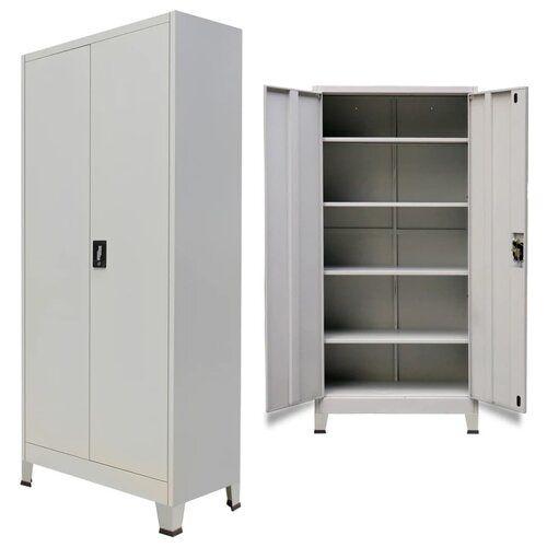 Bloomsbury Market Denice 2 Door Storage Cabinet Metal Storage