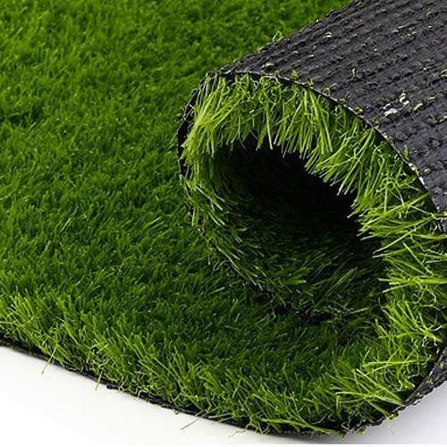 Kuber Industries 45 Mm Arificial Grass For Floor Soft And Durable Plastic Natural Landscape Garden Plastic Mat 4 X 10 Feet In Thick Material G03 Grass Carpet Artificial Grass Mat Artificial Grass Carpet