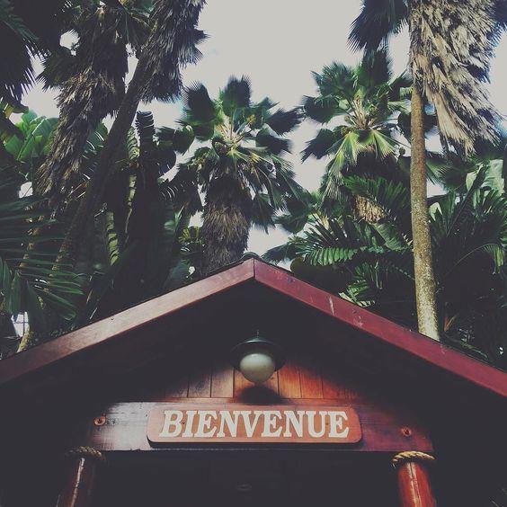 #jardindepalm #hotel #visit #mahe #seychelles #welcome #sign #bienvenue #palm #lifeofaphotographer by snibourette