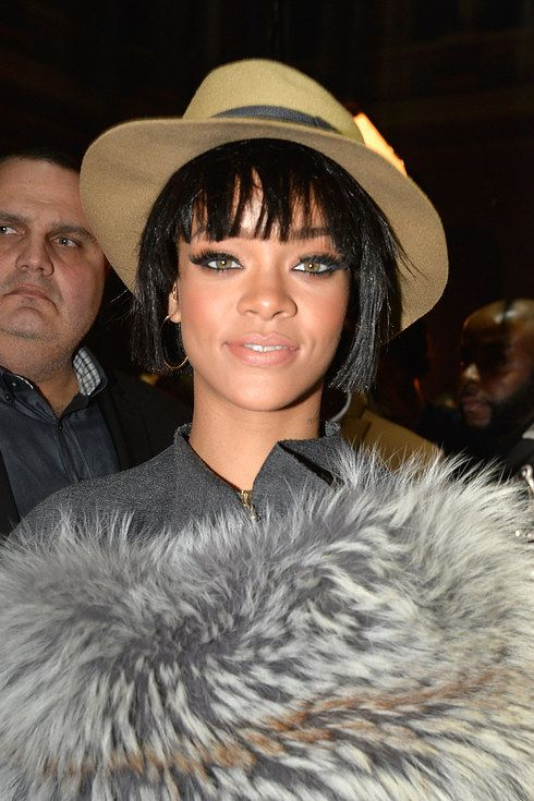 Rihanna | Proof That Bangs Can Totally Change Your Face