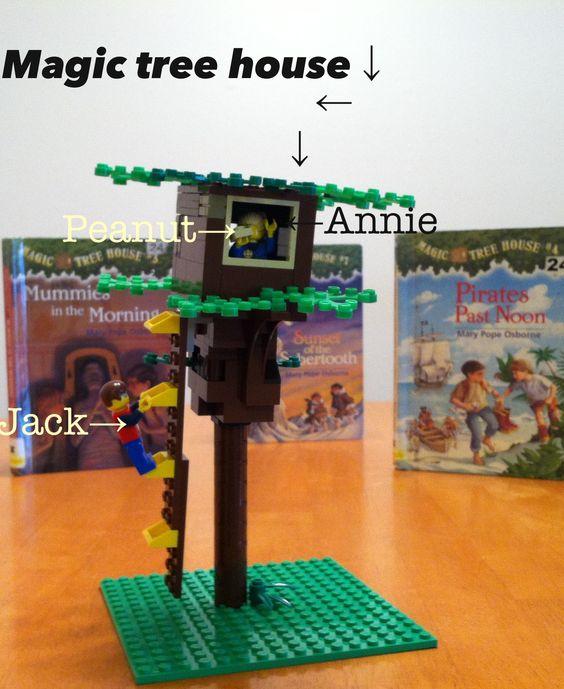 Lego Magic Tree House From Night Of The Ninjas Evan 39 S