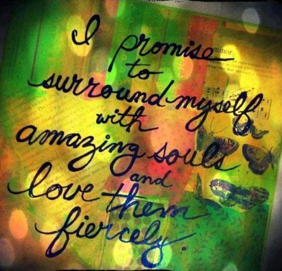 Love fiercely.