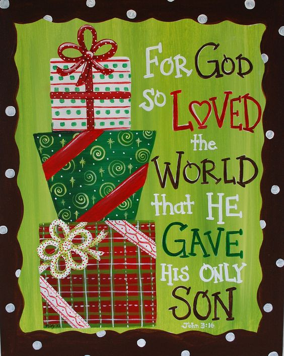 Baby Gift God Bible Verse : The present scriptures and christmas on