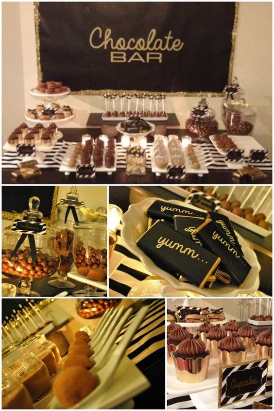 chocolate-bar-themed-birthday-party-ideas  www.spaceshipsandlaserbeams.com: