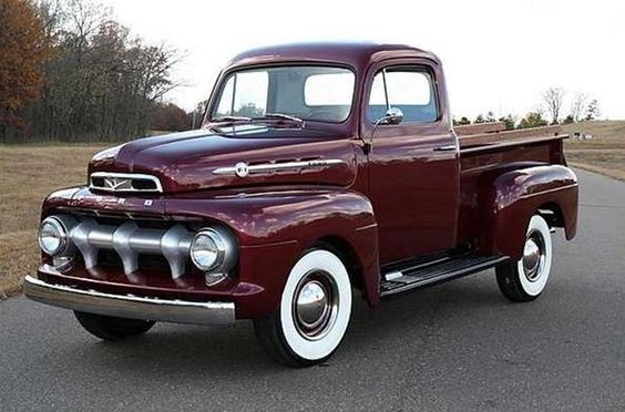 1952 Ford F100 Pickup Ford Trucks Classic Trucks Old Pickup Trucks