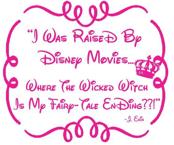 Raised Disney