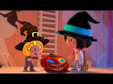 ᴴᴰ Cleo Cuquin En Espanol Familia Telerin Halloween 2018 Dibujos Animados Para Ninos Ninos Y Ninas Animados Halloween 2018 Ninos Dibujos Animados