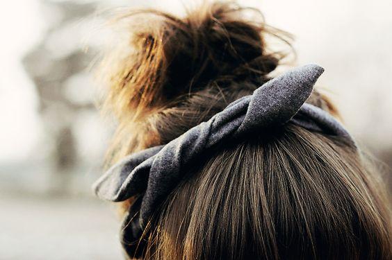 Felt knot headband