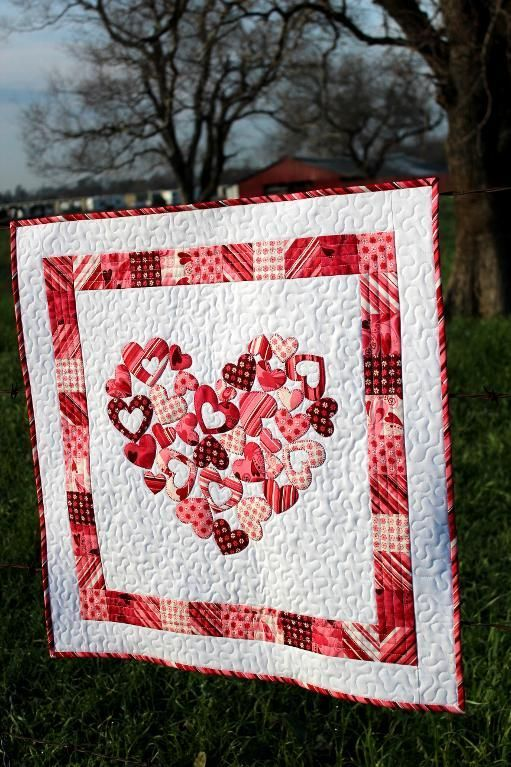 My Valentine Quilt ... by FN | Quilting Pattern. @Becky Hui Chan w.: