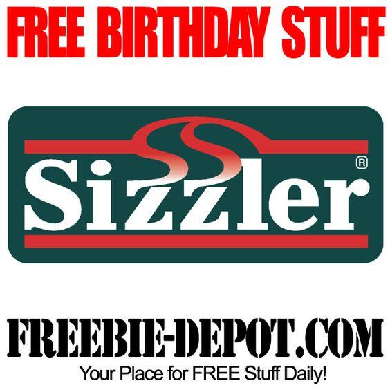 BIRTHDAY FREEBIE Sizzler - FREE BDay Steak