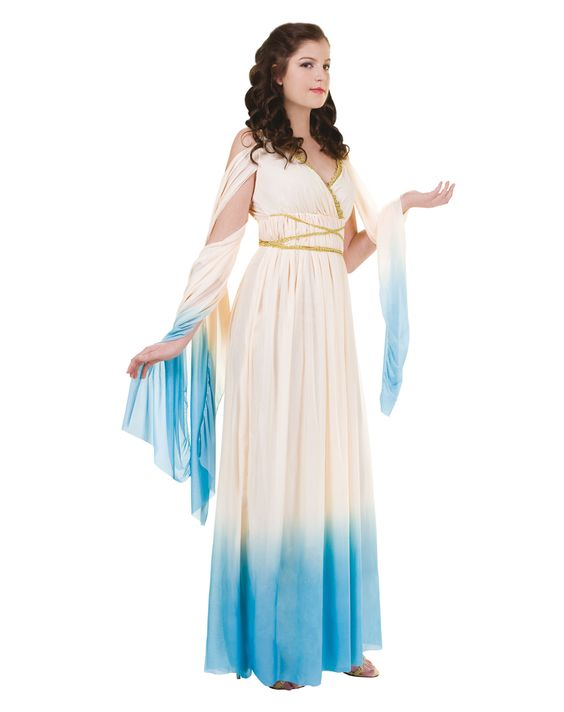 athena adult womens blue costume should i be this for