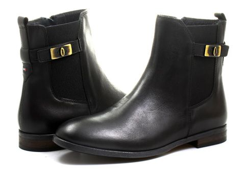 Tommy Hilfiger Ci�my Billie 10a � Office ShoesTommy HilfigerCowboy BootDenim  ...