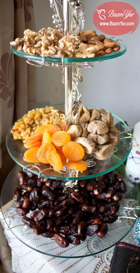 پذیرایی آجیل های رمضانی در ظرف اردو خوری Ramadan Sweets Ramadan Decorations Ramadan Recipes